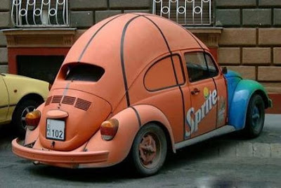 Customed VW Beetle