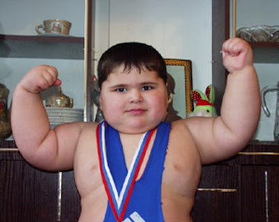 Worlds Strongest Toddler | Male Models Picture