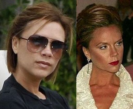 victoria beckham without makeup. victoria beckham without