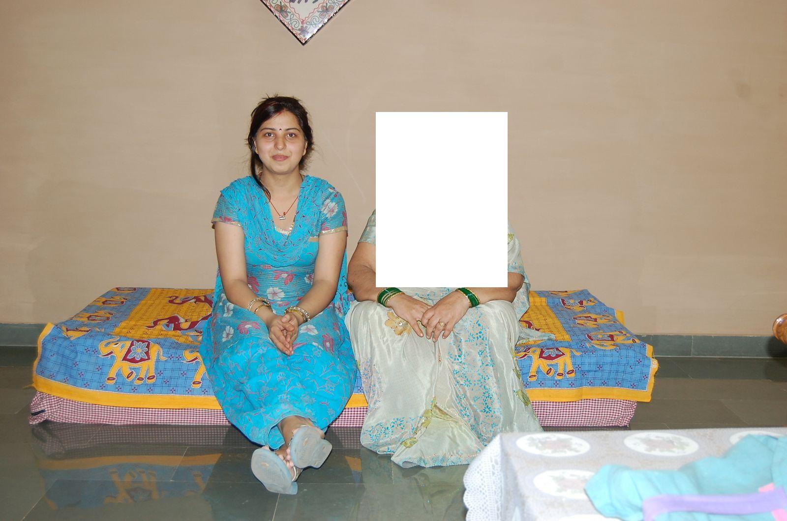 Indian Aunty Bedroom