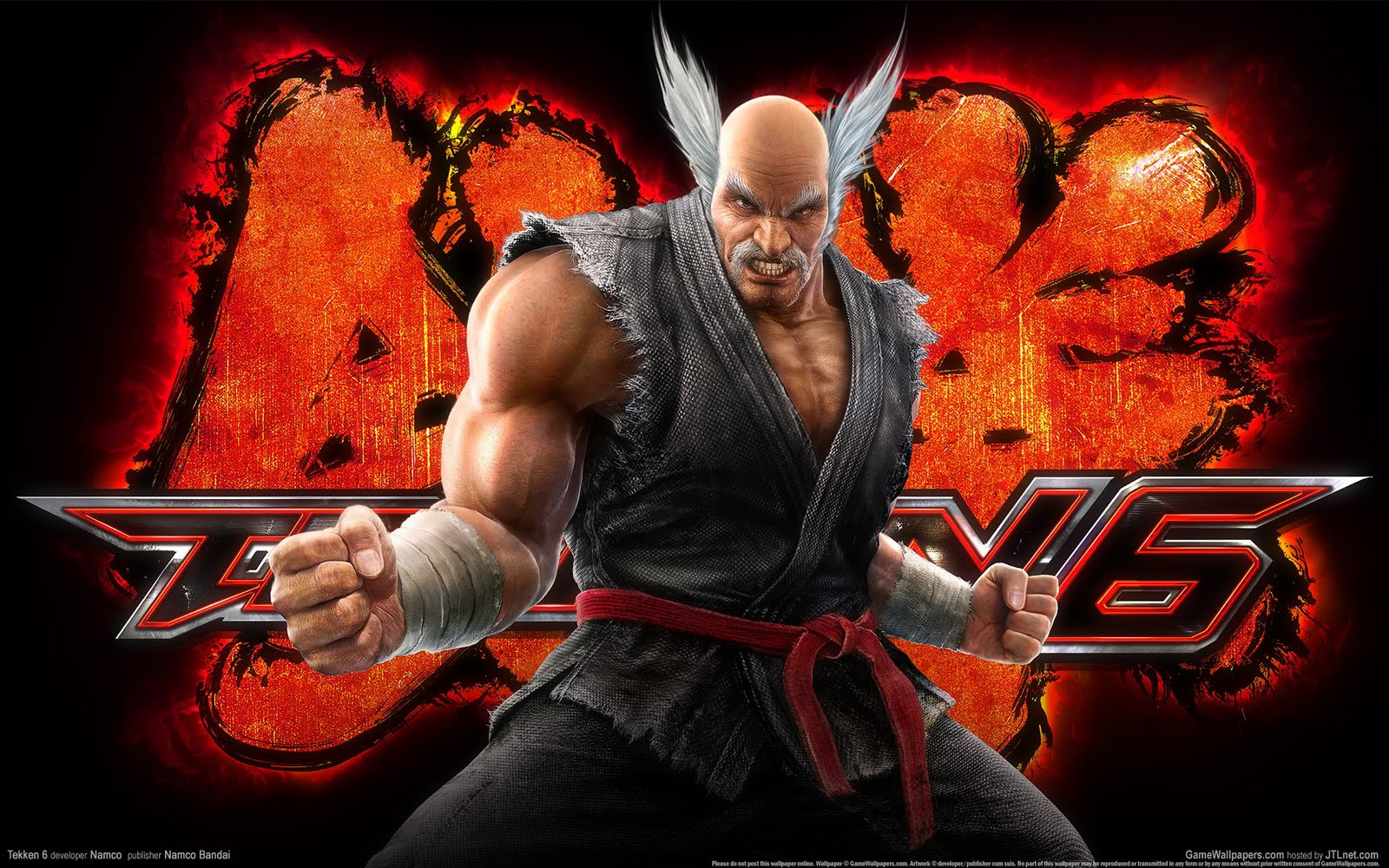 tekken 5 wallpaper 3d