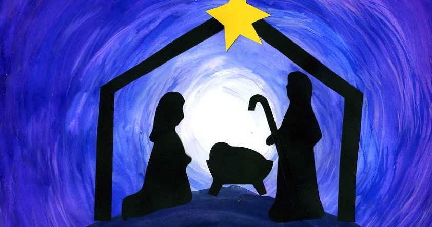 nativity silhouettes