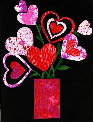 Perfekt Valentine Collage