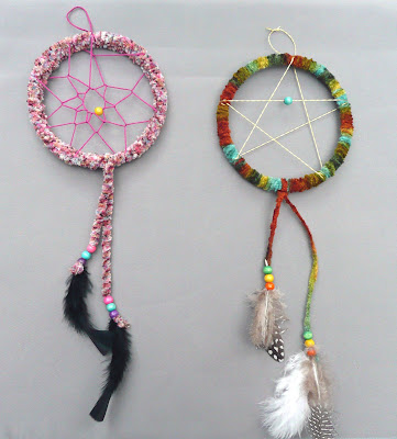 How To Make An Easy Dream Catcher that artist woman How to Make a Dreamcatcher 13