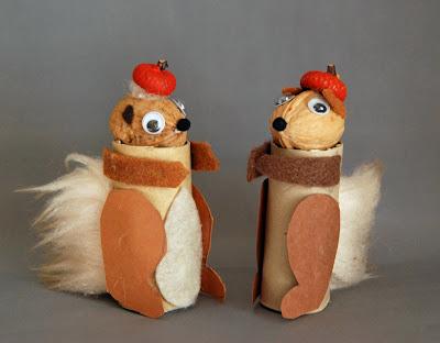 lavori creativi : animali creati con materiali vari - Animali Con Tubi Di Carta Igienica