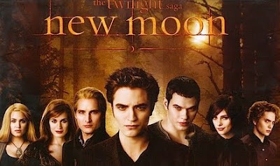 Twilight 2 New Moon Trailer in front of Bandslam
