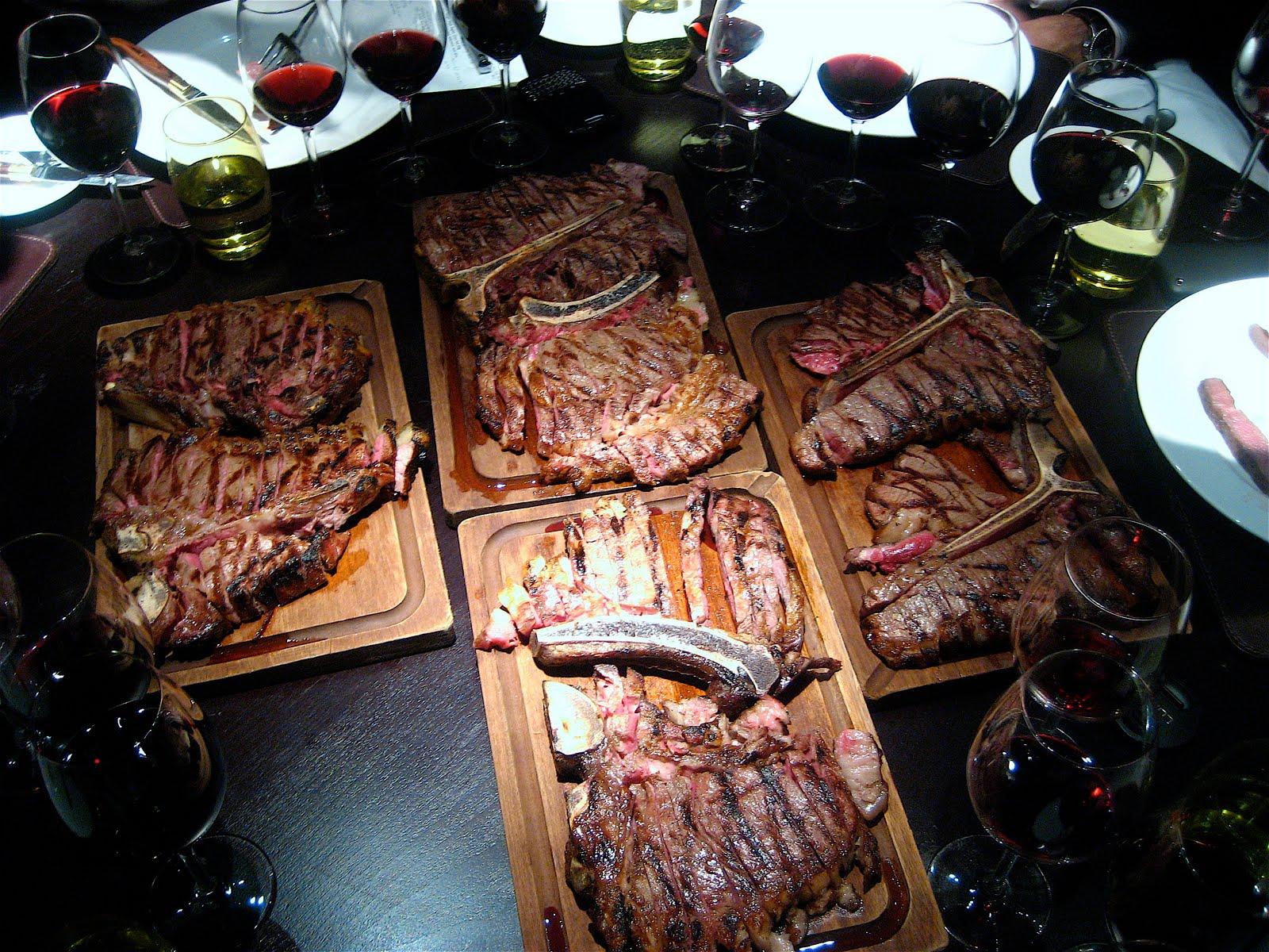 Greedy diva chapters all day dining meat binge in blackheath for Porterhouse steak vs t bone