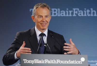 The first and most surprising thing I have to say about Tony Blair's speech ...