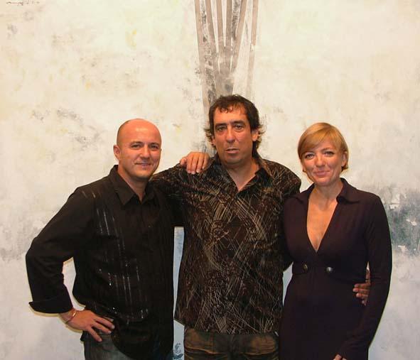 Juan Pablo, Oscar y Paula