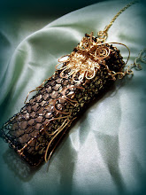 Custom Wire Wrap Owl Harmonica Case
