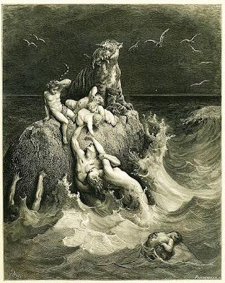 Revelations of an Elite Family Insider Noah%27s+Flood+Dore+1