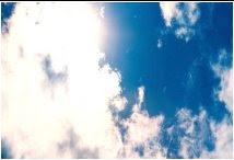 En el cielo yo veo el amor..