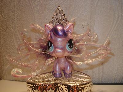 Petshop cheval mauve et violet - Cheval petshop ...