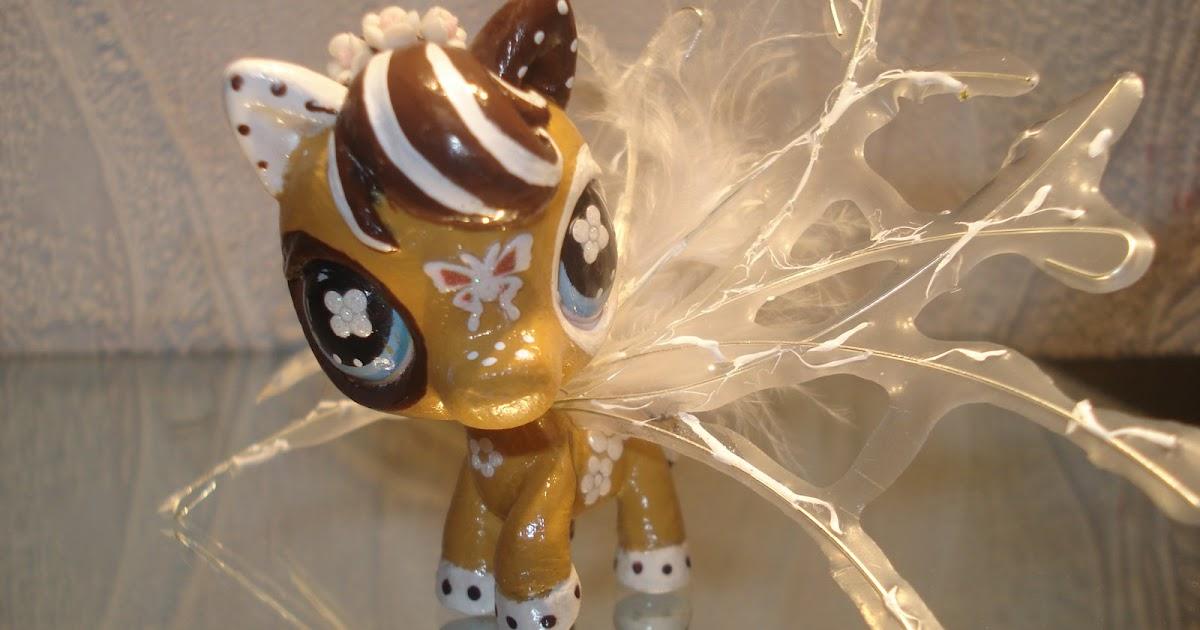 Petshop cheval caramel marron et blanc laurine - Cheval petshop ...