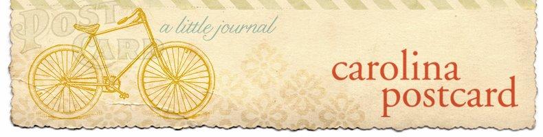 carolina postcard
