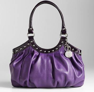 Purple purse in Montreal