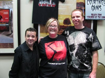 Melissa with John Franklin and Courtney Gains