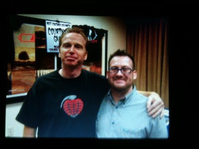 Evan Ganz with Courtney Gains