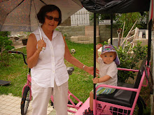 Keohi and Grandma with Trike