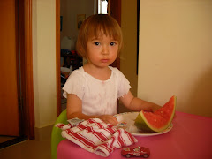 Watermelon at the pink table 2009