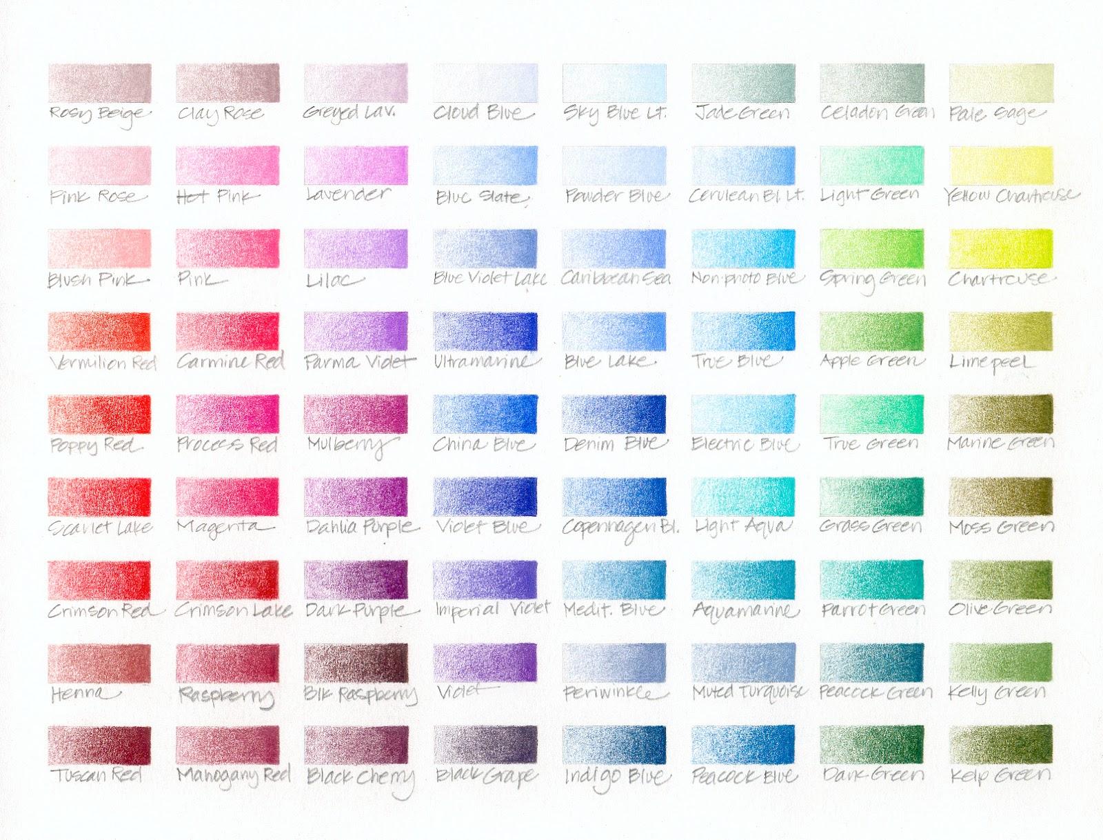 Colored Pencils Names Colored Pencil Sets