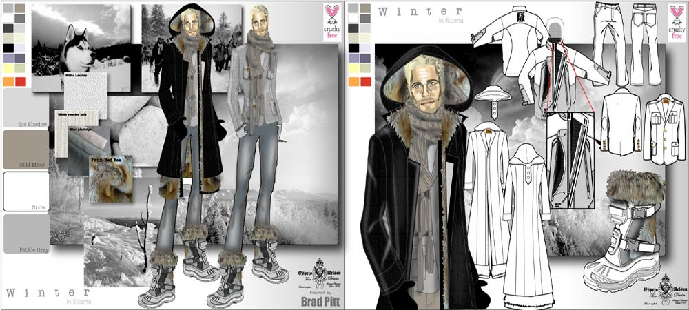 Character Design Portfolio Presentation : Fashion designer portfolio design is my life