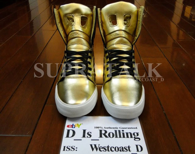 Supra Skytop 2 Gold