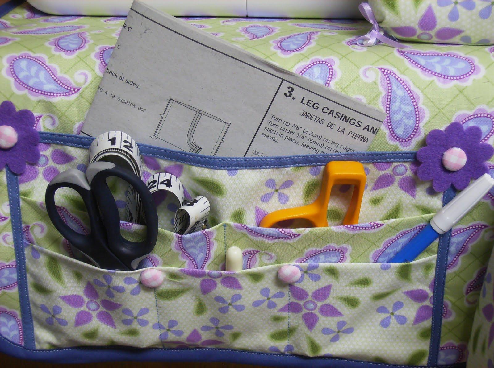 sewing machine mat organizer pattern
