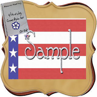 4th Of July Alpha Set (Memories Made Easy) 4thJulyAlpha-PREVIEW