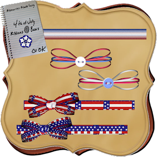 4th Of July Ribbons & Bows (Memories Made Easy) 4thJulyRibbonsBows-PREVIEW