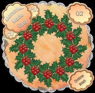 http://ladyshannonmemoriesmadeeasy.blogspot.com/2009/11/christmas-wreaths-1-3-cu-ok.html