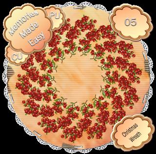 http://ladyshannonmemoriesmadeeasy.blogspot.com/2009/11/christmas-wreaths-4-6-cu-ok.html