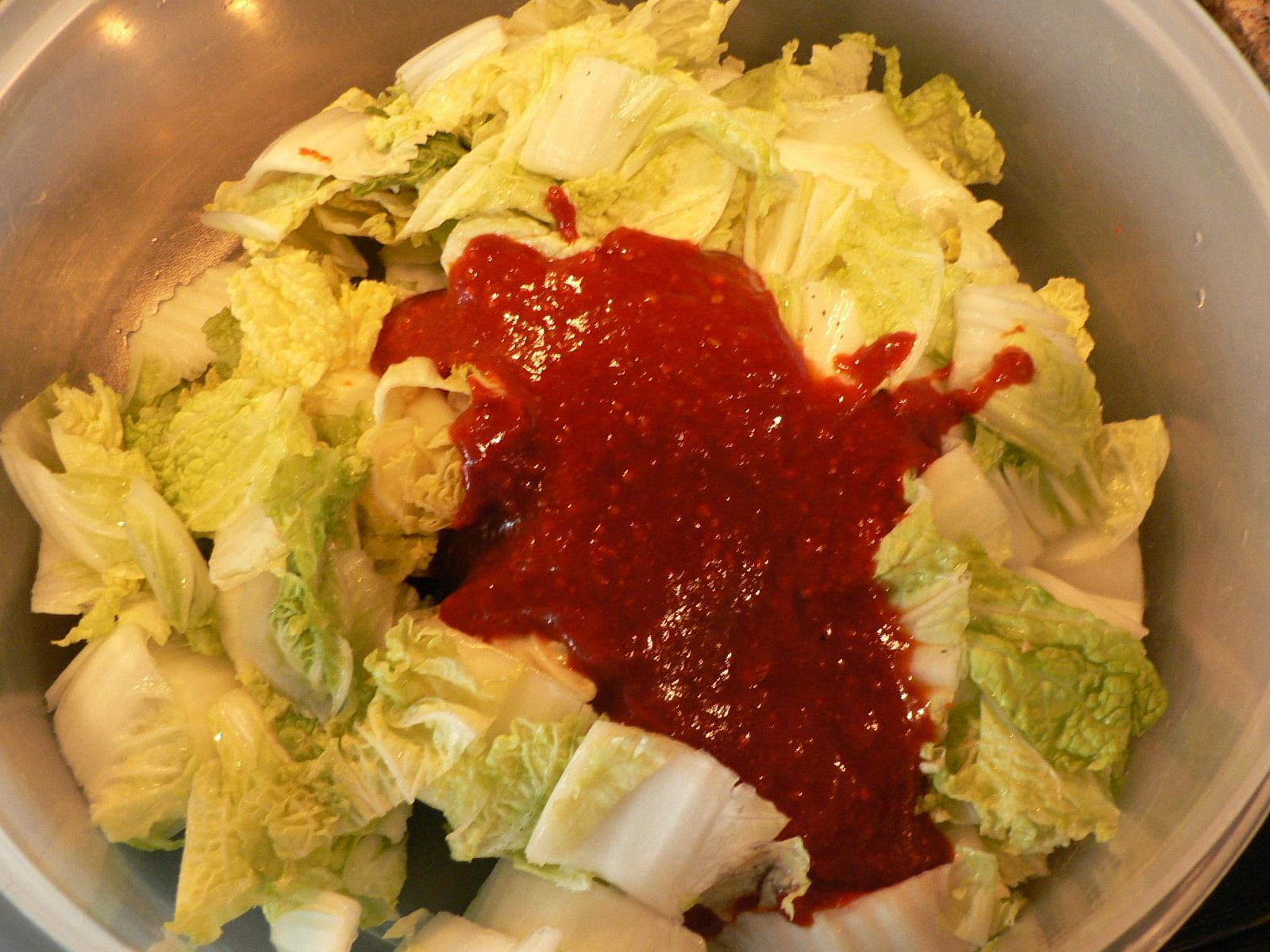 how to avoid slty kimchi