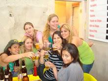 Gregas:Luana,Ana Carolina,Daiane,Samanta,Monica,Priscila e Patriani