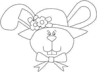 coelho para colorir. animados para pintar