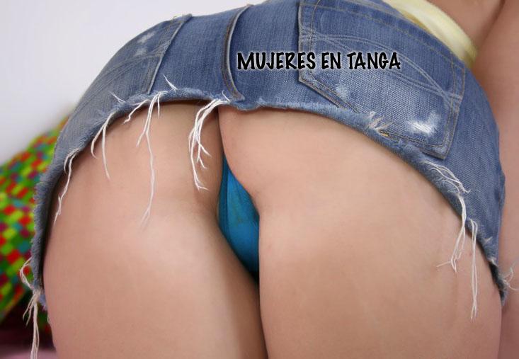 Minifalda Mostrando Tanga Chicas - Porno