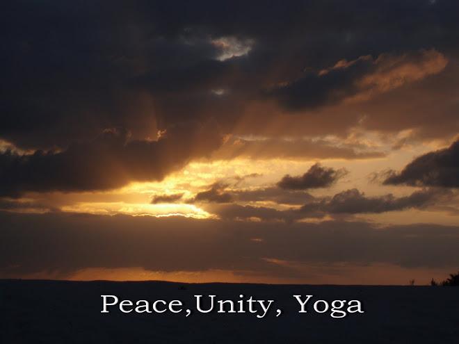 Peace, Unity, Yoga