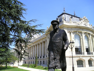 Churchill and the Petit Palais