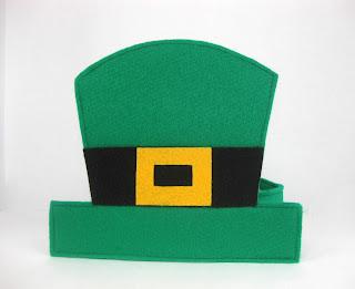 Leprechaun hat giveaway