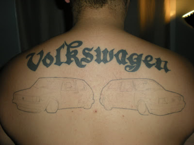 Volkswagen Tattoos