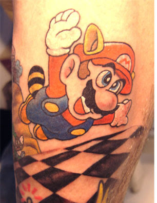 tattoos for brothers. Super Mario Bros Tattoos