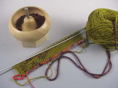 How to Make a beaded viking knit bracelet « Jewelry