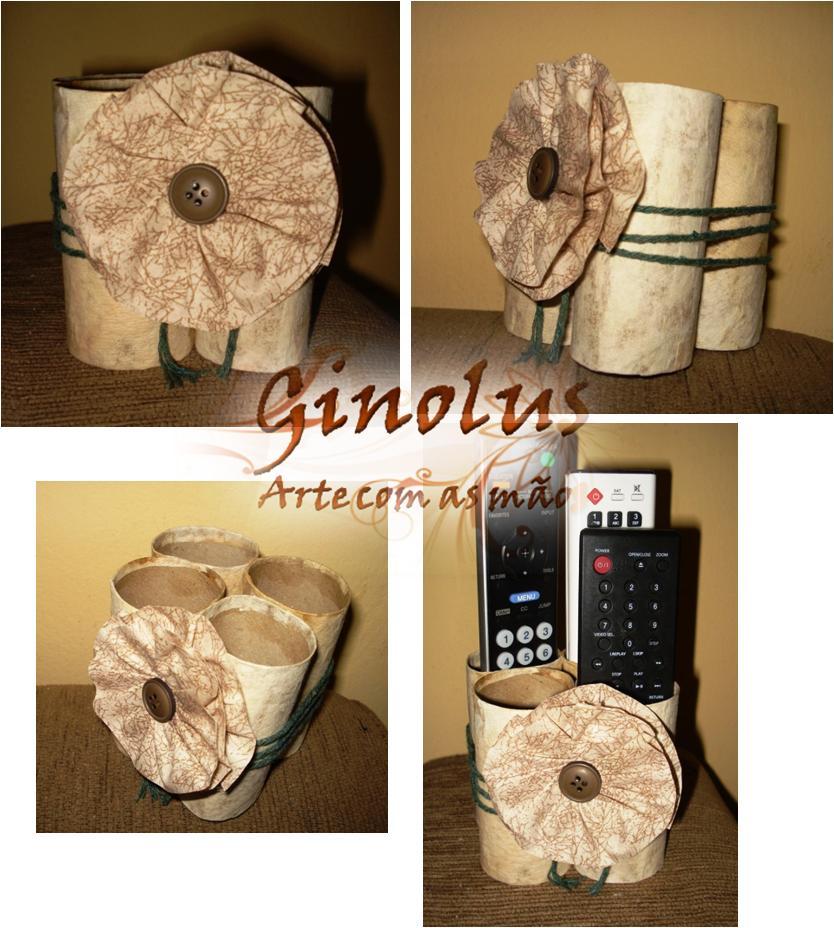 Reutilizando os rolinhos de papel higi nico cantinho - Ideas para la decoracion del hogar ...