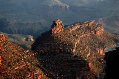 sunrise view from the Rim Trail at Grand Canyon Village