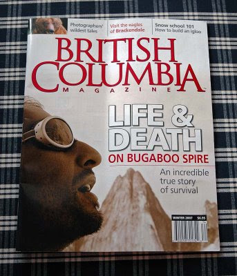 British Columbia Magazine issue from Donna A.