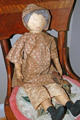 Carole made this great primitive doll for me
