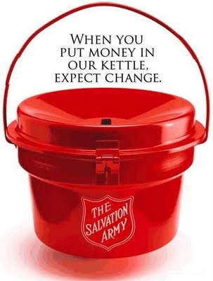 Salvation Army's red kettle