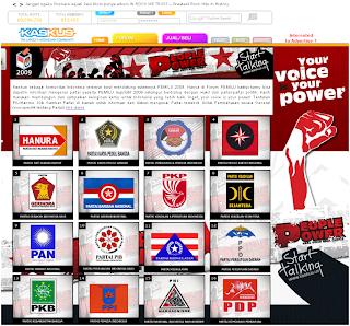 web kaskus kampanye damai pemilu indonesia 2009