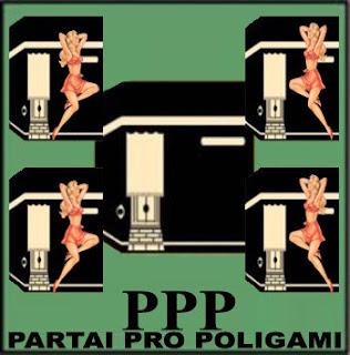 Plesetan Logo Partai PPP Menjadi Partai Pro Poligami