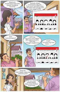 Komik Kampanye Damai Pemilu Indonesia - halaman 5